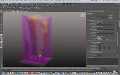 Maya 2011 3D Fluid Container for Explosions, Fire, Smoke Tutorial Part 1...