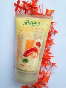 Jovees Rehydrating Face Pack With Shea Butter Review  Guys I have heard that Jovees products contain all valuable herbal ingredients. The ingredients used in Jovees products are carefully processed so that the herb does not lose its nutrients. Yes, it is a well-known brand, based on herbal products. So thought should let you people know about one of the products that I use. Moreover, summer is already on… […]  The post  Jovees Rehydrating Face Pack With Shea Butter Review  appeared ..