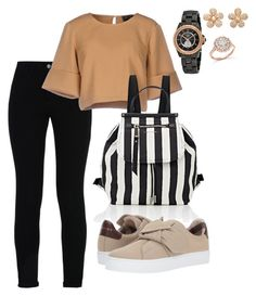 """""""School"""" by pitaa29 on Polyvore featuring STELLA McCARTNEY, The Fifth Label, Marc Jacobs, Burberry, Chanel, Colette Jewelry and Bloomingdale's"""