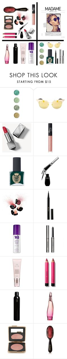 """""""Kit 5"""" by vishkah ❤ liked on Polyvore featuring beauty, Terre Mère, Quay, Burberry, NARS Cosmetics, ncLA, Lancôme, Smashbox, Guerlain and Urban Decay"""