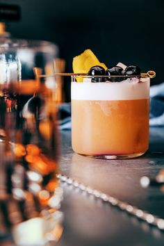 Amaretto Sour with A