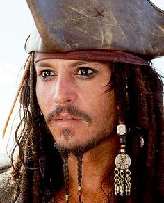 I think Johnny Depp actually looks sexier as a pirate. If I were him, I'd always dress this way even though people would initially think I'd gone insane & gotten stuck in the role. Pirates of the Caribbean: The Curse of the Black Pearl Captain Jack Sparrow, Here's Johnny, The Lone Ranger, Hollywood, Pirates Of The Caribbean, Best Actor, Narnia, Movie Stars, Kentucky