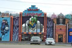 Arcade Lazerport in Pigeon Forge - You and your kids will have a blast at this attraction!