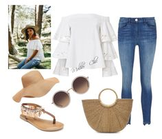 """""""Dica para um look"""" by lenagomes on Polyvore featuring 3x1, Exclusive for Intermix, Old Navy, Penny Loves Kenny et Linda Farrow"""