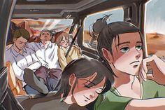Attack On Titan Funny, Attack On Titan Fanart, Attack On Titan Aesthetic, Eren X Mikasa, Aot Characters, Eremika, Anime People, Fanarts Anime, Animes Wallpapers