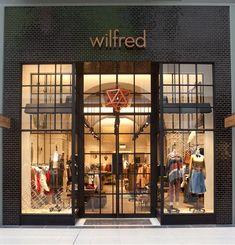 Wilfred store, Toronto store design.