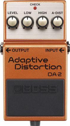 BossDA-2 Adaptive Distortion Guitar Effects Pedal
