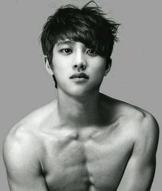 Shirtless D.O Kyungsoo TT____TT | allkpop. His body doesn't match his head and face