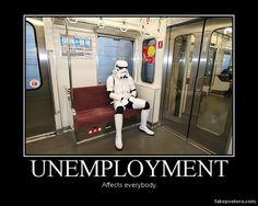 Unemployment - Demotivational Poster