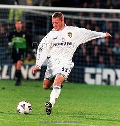 David Batty was the local boy made good, even though he never really liked Football. He played for Leeds as an 18 year-old in an average second division team and played in the league winning team of 1992. He went on to play for England and will be famed for THAT penalty miss in the 1998 World Cup. Leeds fans remember him as a tough-tackling midfielder who broke up play before playing simple passes to his more skillful team-mates. Sold in 1994 he also won the league with Blackburn in 1995.