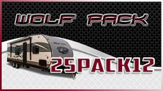 2018 Forest River Wolf Pack 25PACK12 Toy Hauler Lakeshore RV Find out more at https://lakeshore-rv.com/forest-river-rv/wolf-pack/2018-wolf-pack-25pack12-floor-plan/?pr=true call 231.788.2040 or stop in and see one today!  Introducing the incredible 2018 Wolf Pack 25PACK12 toy hauler!   Two separate exterior entryways make it simple to get in and out of this Wolf Pack so you can easily kick back under the large 21-foot power awning which comes complete with an LED strip so you can hang out…