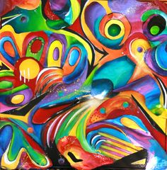Original Acrylic Painting- 3D large- Available for Sale