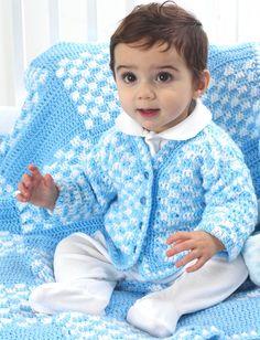 Yarnspirations.com - Bernat Checkered Blanket - Patterns  | Yarnspirations