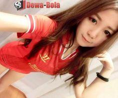 perempuan asia jester real madrid cute | soccer girl | gadis bola | bola net   dewabola.club