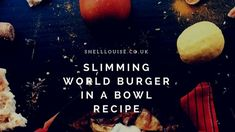 Burger in a bowl - a Slimming World recipe for a burger without the bun Burger In A Bowl Slimming World, Slimming World Beef Recipes, Slimming World Fakeaway, My Slimming World, Help Getting Pregnant, Chances Of Getting Pregnant, Big Burgers, Pregnant Diet, Burger Recipes