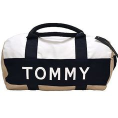 Tommy Hilfiger Mini Duffel Bag Unisex Mens Womens Children Duffle Gym P006