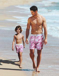 #Bermuda de niño de las tallas 4 a la 10 y #bermuda hombre de #EmidioTucci #ElCorteIngles