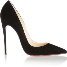 Christian Louboutin So Kate 120 suede pumps found on Polyvore