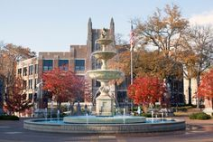 Bibb Graves Hall at University of North Alabama, Florence, Al
