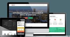 ZerifPro v1.8.8.4  Responsive One Page Theme  Blogger Template
