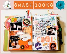 """""""How To: Smash Books"""" by poppypopoko ❤ liked on Polyvore"""