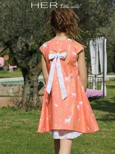 Children's sewing pattern: Dress Pensive