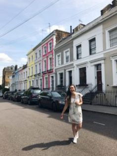 Notting Hill. colorful streets, colorful houses, London, England, United Kingdom, What to do in London, tourists, wanderlust, travel, Europe