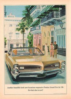 1966 Pontiac Grand Prix Advertisement Newsweek December 13 1965 | Flickr - Photo Sharing!