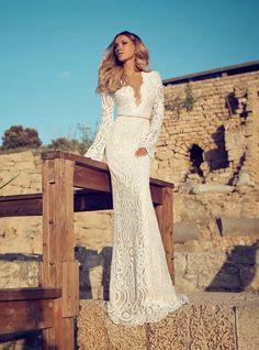 Wedding Dresses by Julie Vino Fall 2014  | bellethemagazine.com