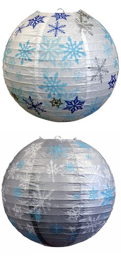 14 Inch Silver Snowflake Christmas Holiday Paper Lantern on Sale Now! Paper Snowflakes, Christmas Snowflakes, Christmas Holidays, Christmas Ideas, Paper Lantern Store, Paper Lanterns, Happy Birthday Parties, Frozen Birthday Party, Cheap Lanterns