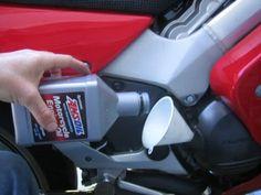 1998 VFR 800 Oil Change (5th Generation)