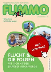 Das aktuelle Flimmo-Heft kann man sich mit oder ohne Sendebesprechungen als PDF herunterladen.