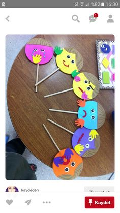 ▷ tutorials and ideas on interesting preschool activities Kids Crafts, Toddler Crafts, Diy And Crafts, Arts And Crafts, Art N Craft, Craft Work, Kids Education, Preschool Activities, Feelings Preschool