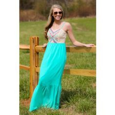 Winning Your Love Maxi Dress - $46.00. So cute for Summer...