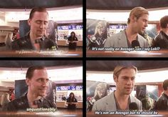 Some might call them broulmates. | Chris Hemsworth And Tom Hiddleston Have The Hottest Bromance To Ever Exist
