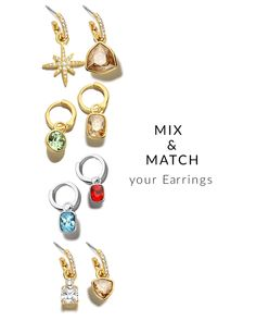 Looking for a new pair of modern jewellery to wear? Discover the Hoop Earring Charms and create your own unique pair by mixing and matching different pieces, suitable for any occasion. Discover now. Jewellery Advertising, Jewelry Ads, Jewelry Trends, Photo Jewelry, Jewelery, Jewelry Design, Simple Jewelry, Modern Jewelry, Jewelry Banner