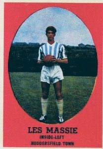 Les Massie of Huddersfield Town in Huddersfield Town Fc, Laws Of The Game, Association Football, Most Popular Sports, Trading Card Database, Trivia, Fifa, World Cup, Baseball Cards