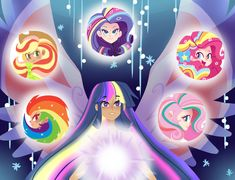Rainbow Power by kilala97.deviantart.com on @deviantART