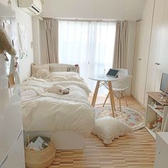 Room Ideas Bedroom, Bedroom Decor, Cute Room Decor, Minimalist Room, Aesthetic Room Decor, Cozy Room, Dream Rooms, New Room, House Rooms