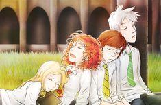Rise of the brave tangled dragon - Harry Potter AU by Kiki-Asuka.deviantart.com on @deviantART