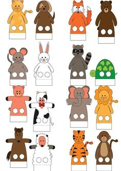 This adorable giraffe finger puppet craft is such a hoot and is so fun for kids to play with! A perfect craft to make after visiting the zoo this summer. Paper Crafts For Kids, Felt Crafts, Arts And Crafts, Toddler Activities, Preschool Activities, Diy With Kids, Puppets For Kids, Puppet Patterns, Finger Puppets