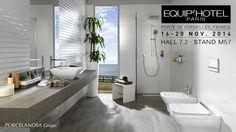 PORCELANOSA Grupo estará en Equip'hotel 2014, del 16 al 20 de noviembre en París