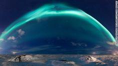 Powerful solar storm sparks stunning aurora around the world |via`tko CNN