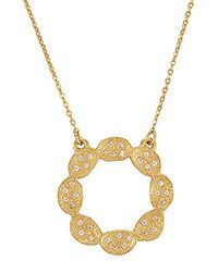 Melinda Maria Ashley Necklace with Clear CZ. Available at Carats in Stockton, CA!