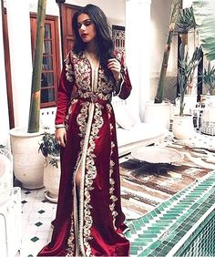 Fashion Arabic Style Illustration Description Moroccan caftan – Read More –