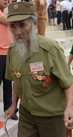 Veteranof Dien Bien Phu 1954.