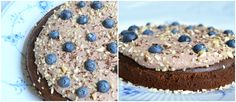 Lækker sund chokoladekage med mascarponecreme
