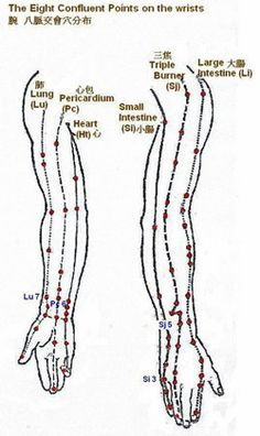 Body point therapy - Eight Confluent Points of the Extra Meridians