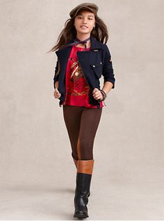 Riding boots from the Ralph Lauren Fall Fashion Show 2013