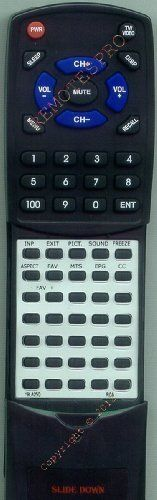 PROSCAN Replacement Remote Control for 19LA25Q by Redi-Remote. $43.95. This is a custom built replacement remote made by Redi Remote for the PROSCAN remote control number 19LA25Q. *This is NOT an original  remote control. It is a custom replacement remote made by Redi-Remote*  This remote control is specifically designed to be compatible with the following models of PROSCAN units:   19LA25Q  *If you have any concerns with the remote after purchase, please contact me d...